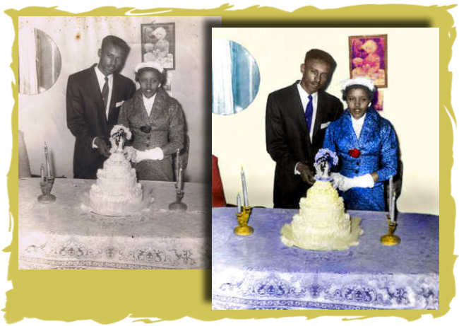 Photo Restoration, Restore and Retouch.   Colorize image.  smiledogproductions.com