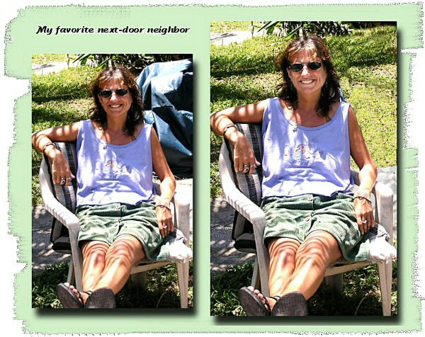 Photo Restoration, Restore and Retouch - change background, Shari - Photo Restore by SmileDogProductions.com