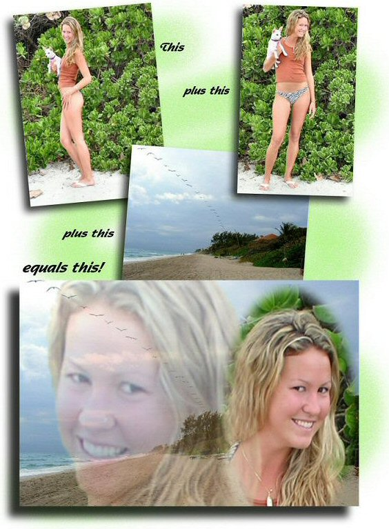 Photo Restoration, Restore and Retouch. Photo Collage - Sarah - Photo Restore by SmileDogProductions.com