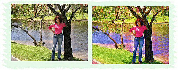 Photo Restoration, Restore and Retouch. Artistic Effects - special effects, Geri 1 - Photo Restoration by SmileDogProductions.com