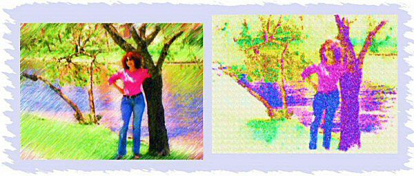 Photo Restoration, Restore and Retouch. Artistic Effects - special effects, Geri 3 - Photo Restoration by SmileDogProductions.com