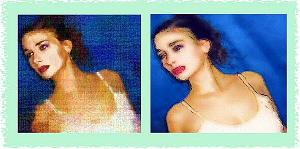 Photo Restoration, Restore and Retouch. Artistic Effects - special effects, Barbara 2 - Photo Restoration by SmileDogProductions.com